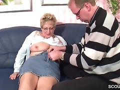 Mother, German, Hardcore, Mature, Old, Mother