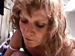 Trailer Trash Mature Sucking Big Cock porn tube video