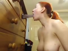 astounding deepthroat porn tube video