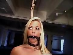 Gagging, Amateur, BDSM, Big Tits, Bound, Choking