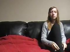 Tyler Fucks Misty - ON THE INFAMOUS BLACK SOFA porn tube video