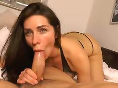 Webcam, Amateur, Blowjob, Brunette, Homemade, MILF