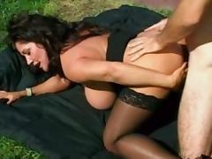 Fabulous pornstar Ashley Evans in hottest milfs, facial sex clip