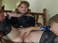 BBW MILF Anal porn tube video