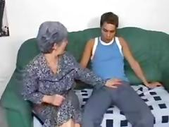 Granny Fucks Grandson porn tube video