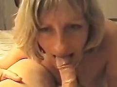 whore mom janet sckin' BF's big cock