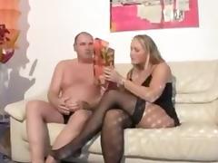 German Chubby couple