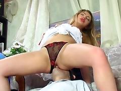 Amazing Homemade movie with Stockings, Anal scenes porn tube video