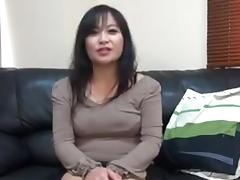 47 year old Asian MILF creampie