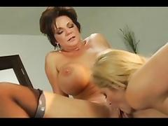 Exotic pornstar Samantha Ryan in hottest brunette, small tits adult movie tube porn video
