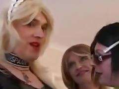 Crossdressers Having Fun porn tube video