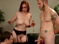 Mistress trainig a cuckold