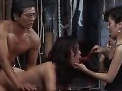 Delightful Asian wife enjoys every deep thrust of cock in h porn tube video