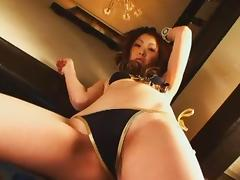 Fabulous Japanese chick Katsuki Asou in Exotic POV, Ass JAV video tube porn video