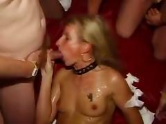 Bukkake Gangbang porn tube video