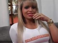 Sexy Brazilian Gets Gangbanged porn tube video