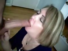 She is like putting lipstick on with that thick cock