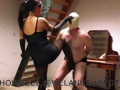 BDSM, BDSM, Femdom, Nylon, Ballbusting