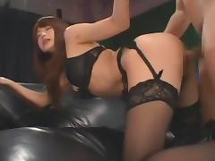 Crazy Japanese whore Akiho Yoshizawa in Incredible BDSM, Stockings JAV scene porn tube video