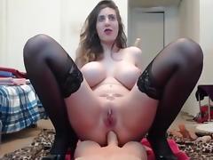 Double Penetration w Freaky Nerd tube porn video