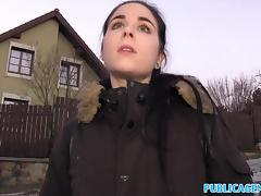 Public Agent Spanish Student fucks for party cash porn tube video