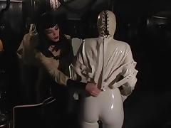 Fabulous pornstars Jean Bardot and Mistress Sandra in amazing bdsm, brunette xxx video porn tube video