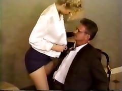 90s Office Sex Scene tube porn video