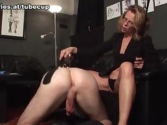 Caught, Blonde, Caught, Femdom, Mature, Mistress