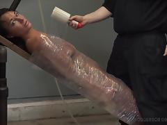 wrapped up together with a vibrator