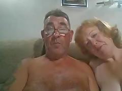 Older man cums on wife porn tube video