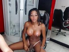 Black shemale cumshot porn tube video