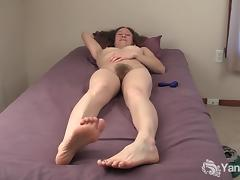 Horny Nina Masturbating And Cumming