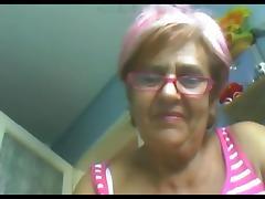 Grandma, Granny, Mature, Old, Webcam, Hungarian