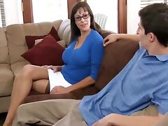Beautiful mom with very nice body & guy porn tube video