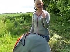 Das Popp-Zelt - So kannst Du mich treffen! porn tube video