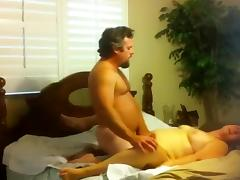 Fat fucked fucked well on bed tube porn video