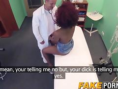 Hot ebony Jasmine gets missionary and doggystyle porn tube video