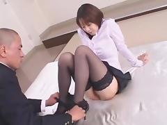 Crazy Japanese girl Misa Nishida in Exotic Cunnilingus, Stockings JAV clip porn tube video