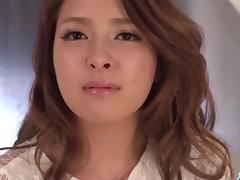 Gorgeous masturbation show with Nana Ninomiya