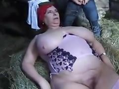 BBW farm the NUDE on