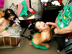 Cindy Starfall & Lexy Bandera & Katya Rodriguez in Holiday Cheer - DareDorm tube porn video
