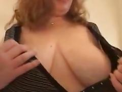BBW Susan part1 - showing her huge boobs porn tube video
