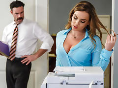 Natasha Nice & Charles Dera in Office Initiation - Brazzers tube porn video