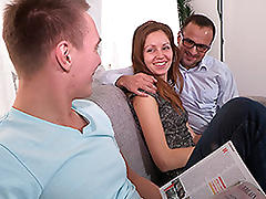 Yan & Elisaveta Gulobeva & Brian in The Idea Of A Real Pervert - SellYourGF porn tube video