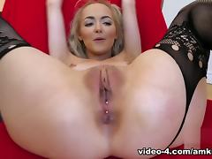 Casting, Audition, Blonde, Casting, Stockings, Interview