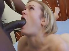 Hottest pornstar Erika Kole in fabulous interracial, blowjob sex movie
