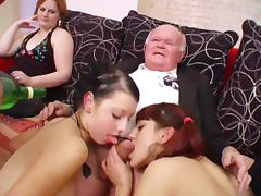 Taboo, 18 19 Teens, Amateur, Blowjob, Dance, Grandpa