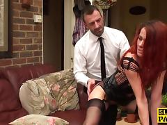 Cuckold brit wife gets pussyfingered porn tube video