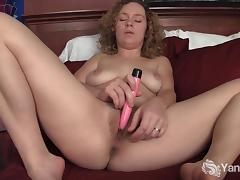 Curly Haired Ruby Toy Her Twat porn tube video