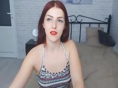 Redhead babe gets banged porn tube video